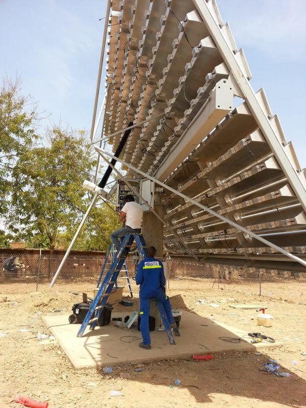 Ouagadougou - Unité solaire photovoltaïque