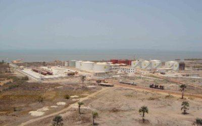 Terminal de stockage carburant