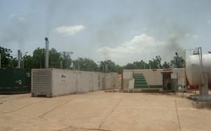 Bamako - Location d'une centrale électrique