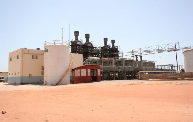 Brikama Gambia extension Power plant phase 3