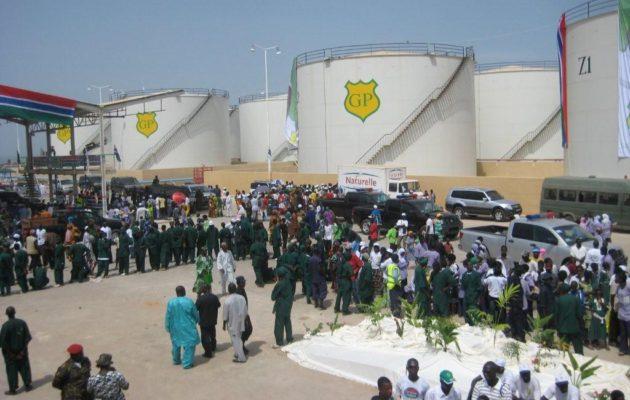 Mandinari Terminal Fuel storage