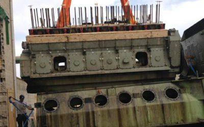 Démontage intégral, réhabilitation de 4 moteurs Deutz BV16M640